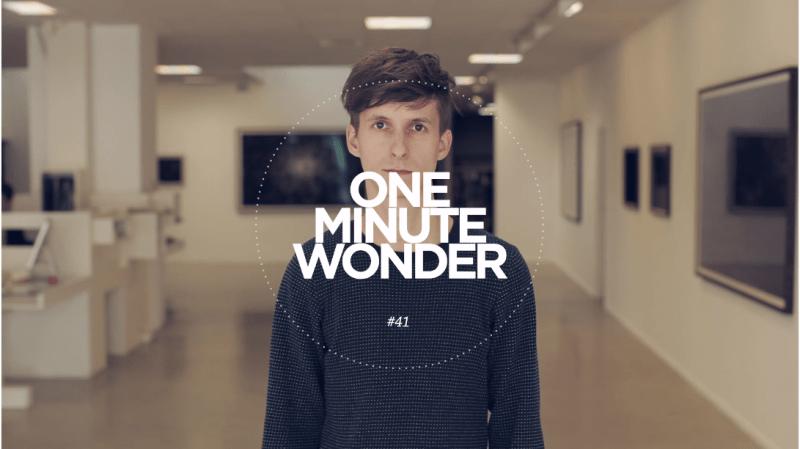 LEVI VAN VELUW – One Minute Wonder