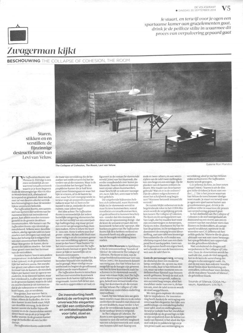 LEVI VAN VELUW | De Volkskrant