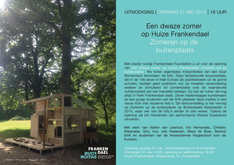 Inti Hernandez on show at Huize Frankendael