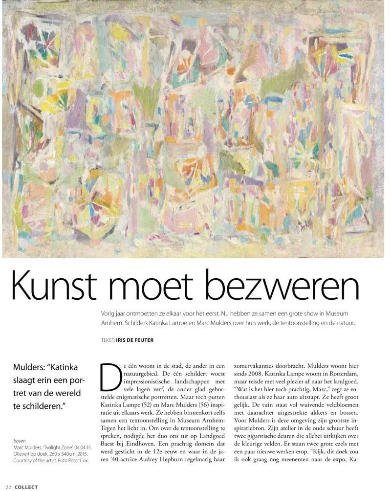 Katinka Lampe | Artikel Collect NL