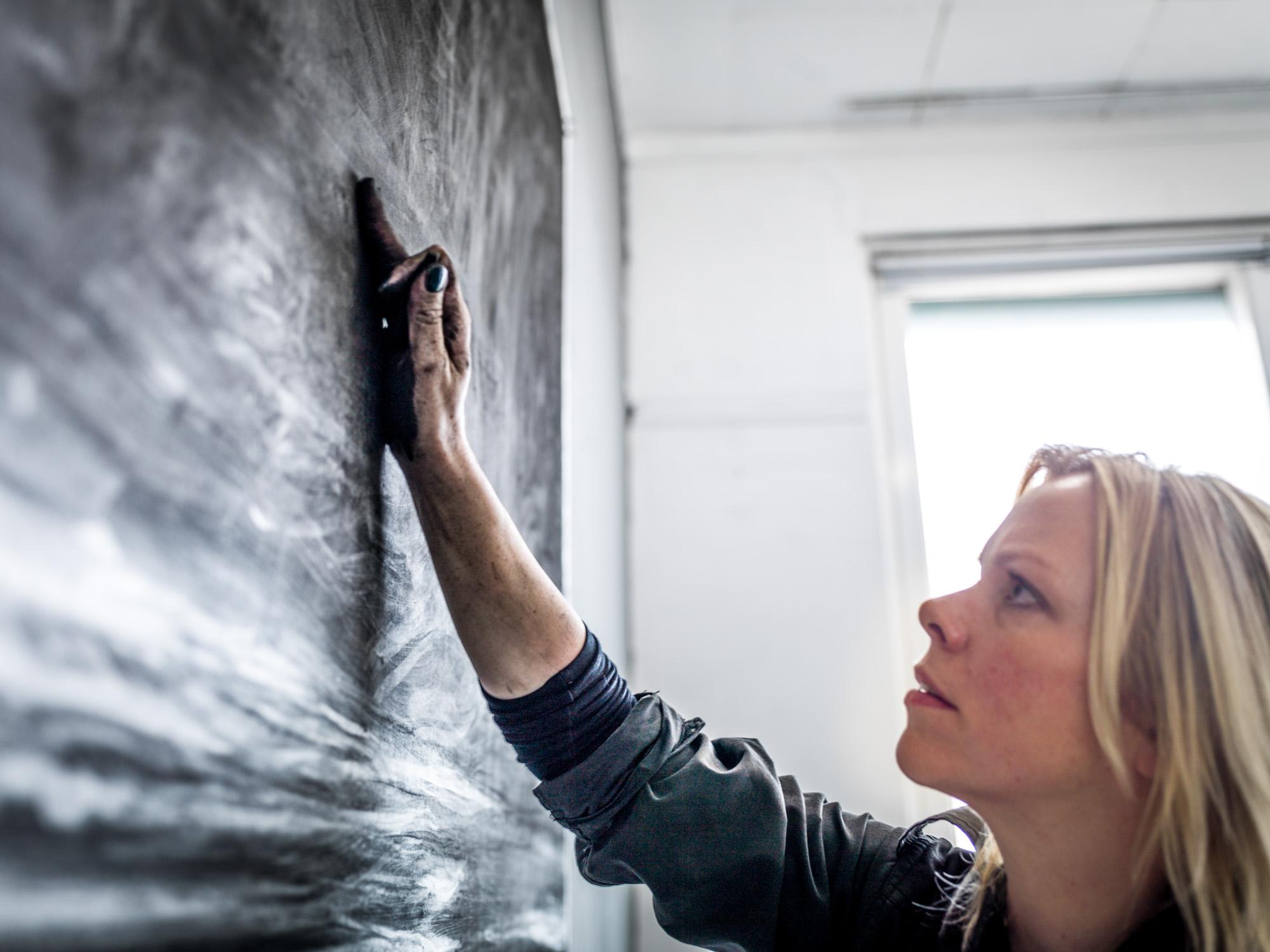 Renie Spoelstra at the Laconica Bienal, Vilnius