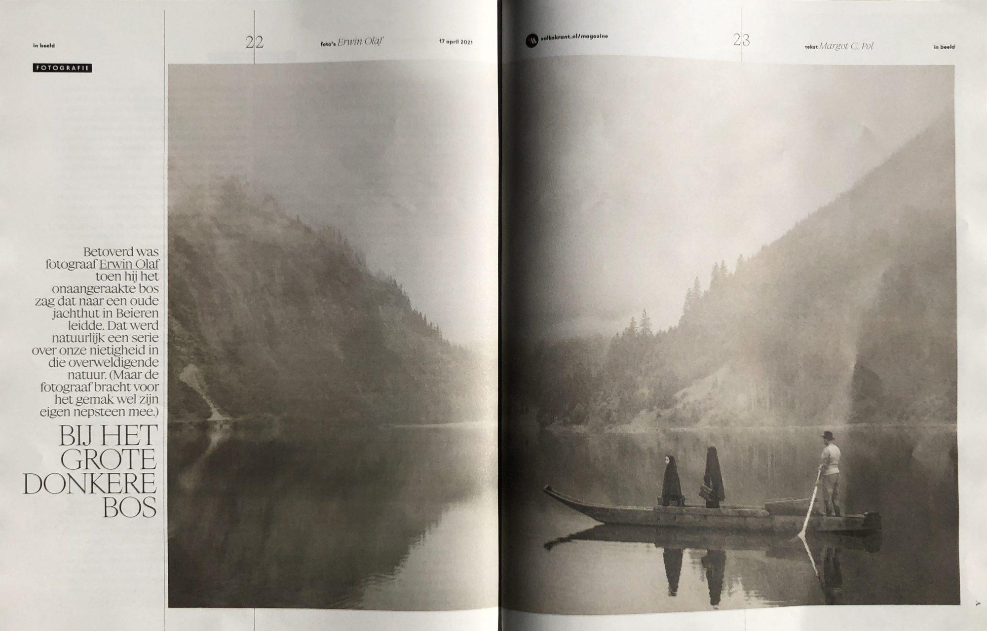 De Volkskrant: Fotoreportage over Erwin Olaf