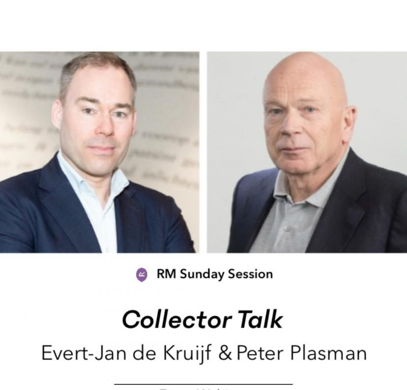 Upcoming: Collector Talk met Evert-Jan de Kruijf en Peter Plasman