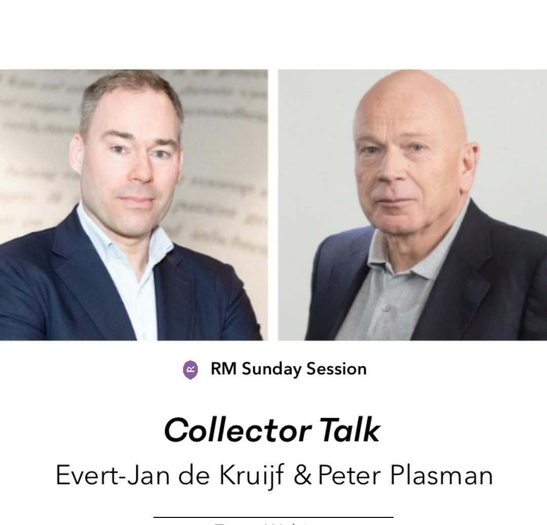 Upcoming: Collector Talk met Evert-Jan de Kruijf en Peter Plasman