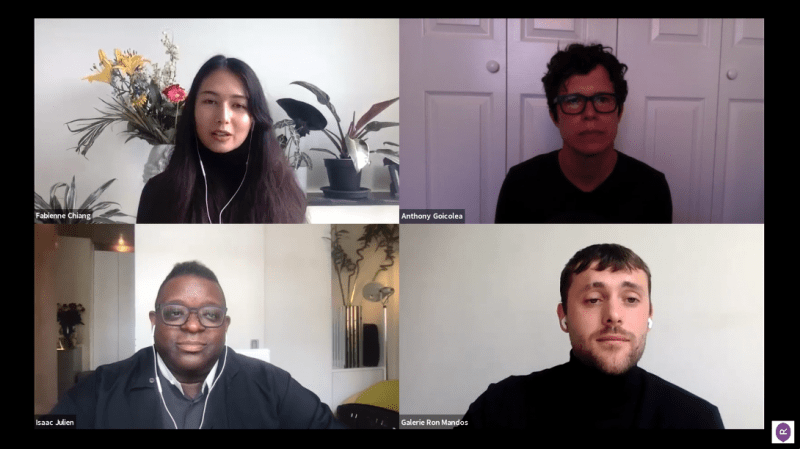 Watch here: In conversation with Fabienne Chiang, Anthony Goicolea and Isaac Julien
