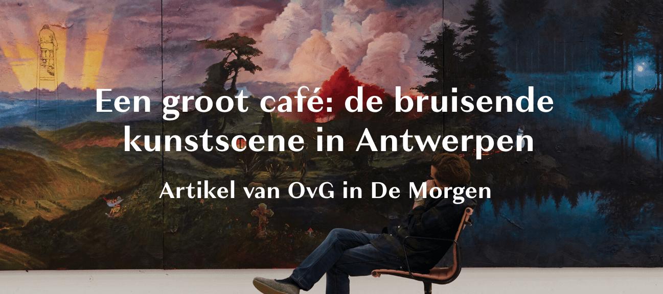 Press coverage | Koen van den Broek at Ballroom Project Antwerp