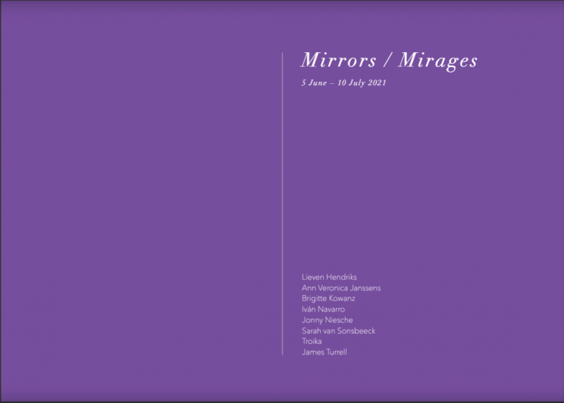 Available Now: Online Catalogue Mirrors / Mirages