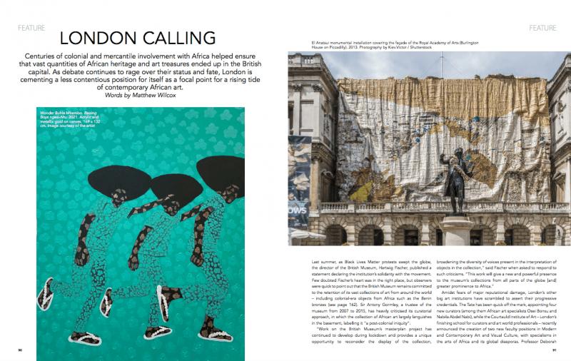 Canvas Magazine: London Calling | WonderBuhle and Esiri Erheriene-Essi