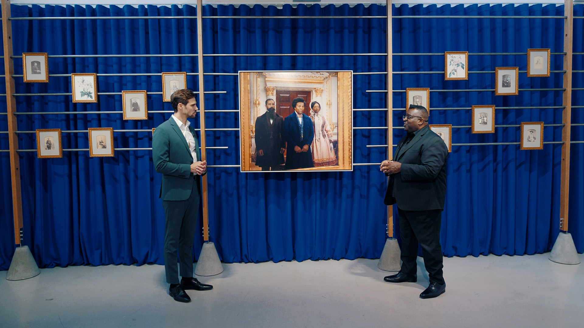Virtual Tour: Isaac Julien | Lessons of the Hour