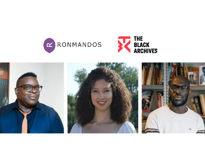 Book Launch and talk: Isaac Julien and The Black Archives